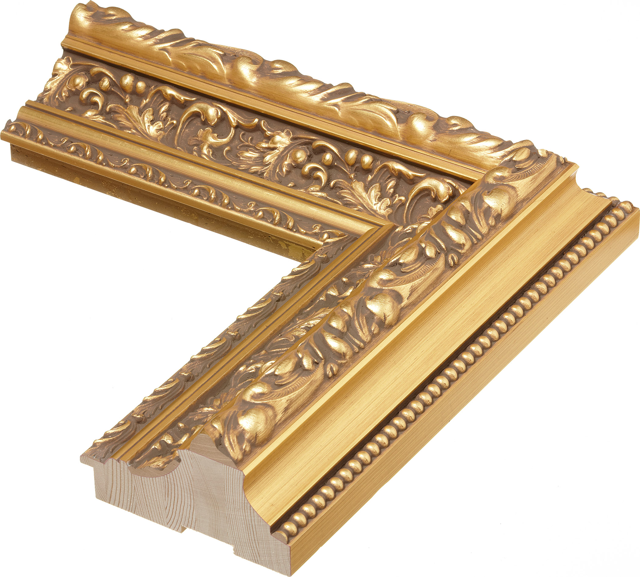 42355 Ro Vintage 6 1 4 Quot Gold Leaf Roma One Roma