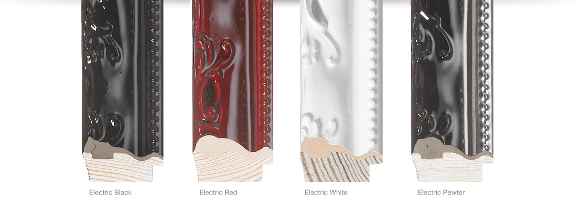 Lavo Finishes, Electric Black, Electric Red, Electric White, Electric Pewter