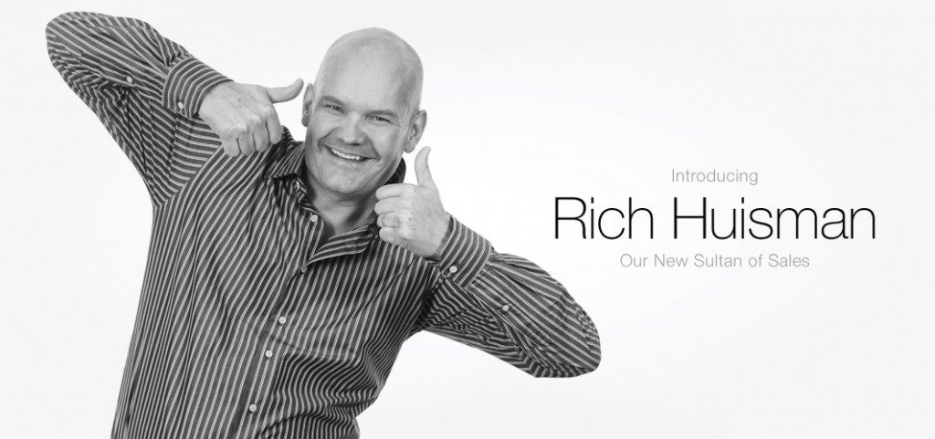 Rich Huisman, Roma's new VP of Sales!