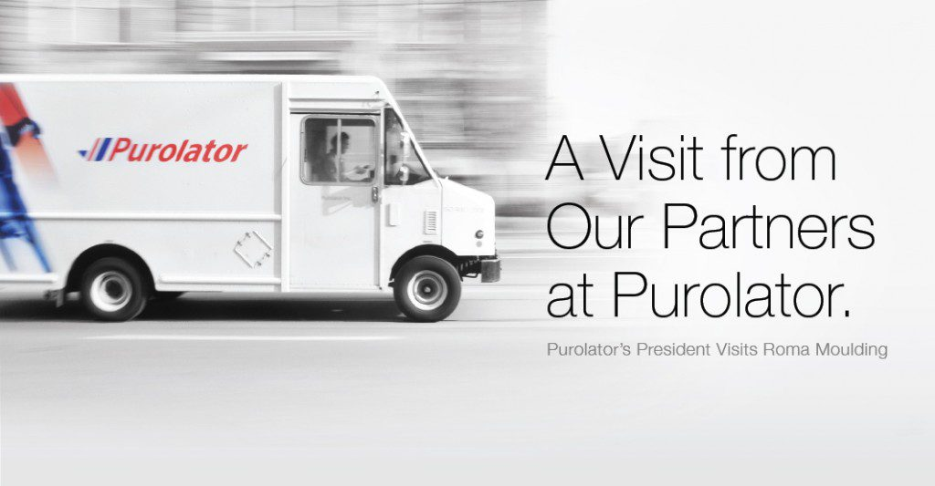 We received a very special visit from Purolator's President and CEO, Patrick Nangle!