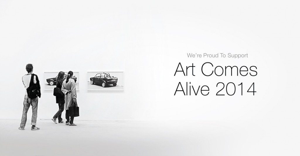 We're proud to support Art Comes Alive 2014 in Ohio.