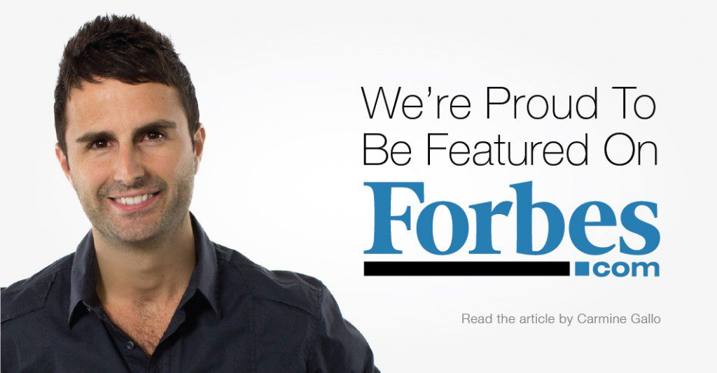 Roma Moulding is proud to be featured on Forbes.com in a wonderful written article by best-selling author, Carmine Gallo.