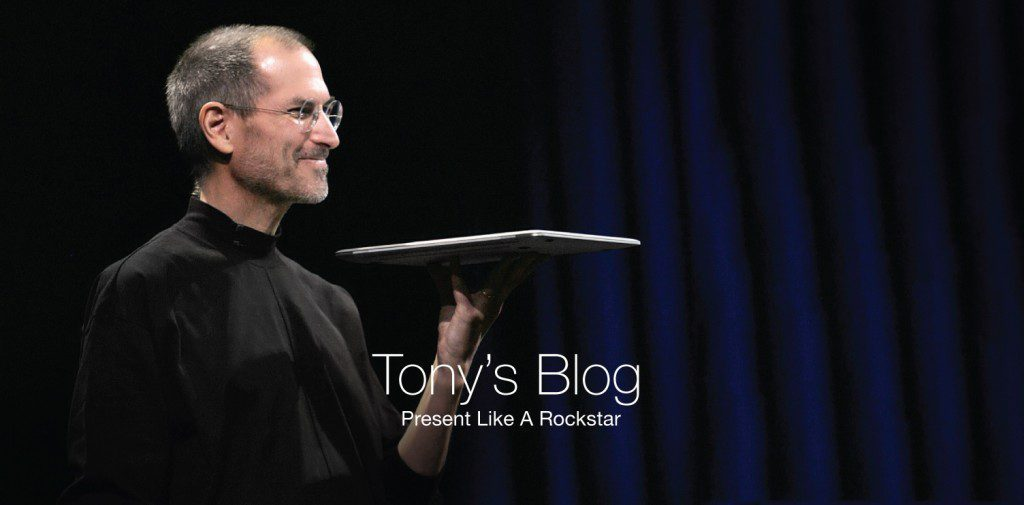 Check out Roma Moulding Tony Gareri's latest blog: Present Like A Rockstar.
