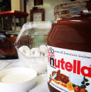 Who wouldn't want to snack on some Nutella?