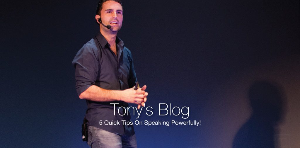 Want to speak powerfully and cultivate influence? Check out Roma Moulding CEO, Tony Gareri's latest blog 5 Quick Tips On Speaking Powerfully!