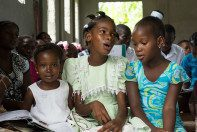 Sunday's a truly special at HATS in Haiti.