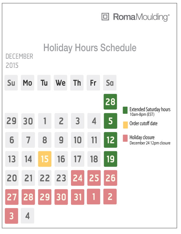 holiday-hour-schedule