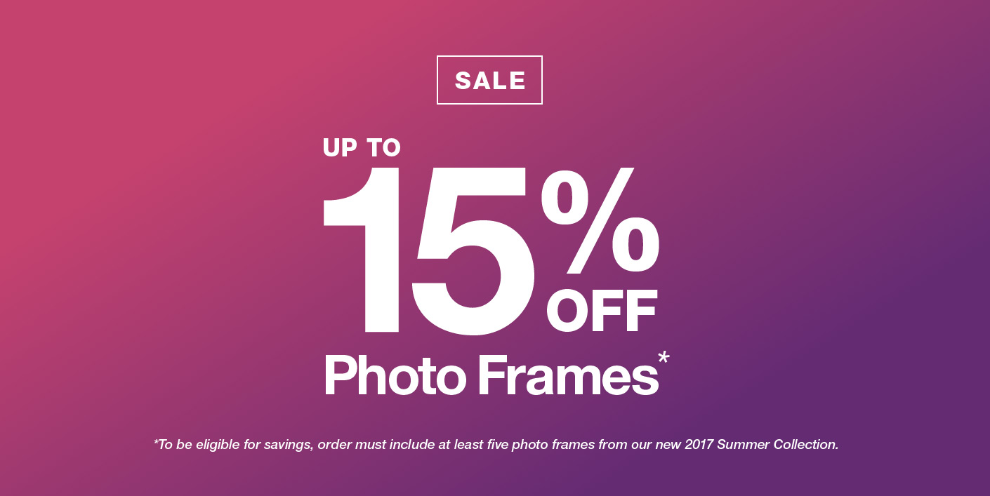 Summer Photo Frame Sale - Roma Moulding - Picture Frames Manufacturer