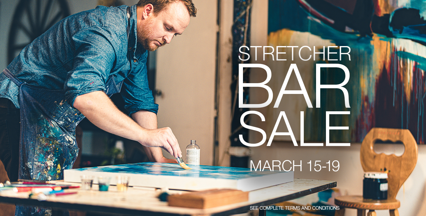 Stretcher Bar Sale March 15-19 Banner 2